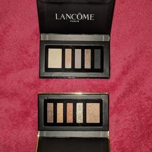 Two Lancome mini eyeshadow palettes